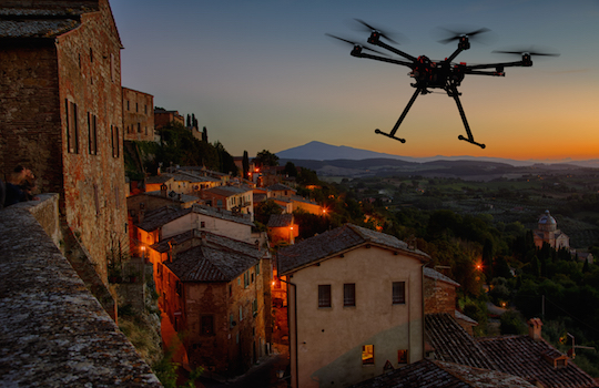 UNMANNED AERIAL PHOTOGRAPHY